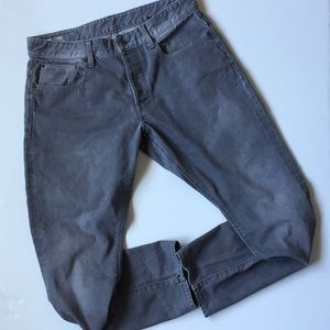 G-Star Raw 3301 Gray Tapered Jeans 34 x 30